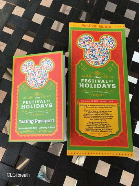 Festival of Holidays 2017 Tasting Passport