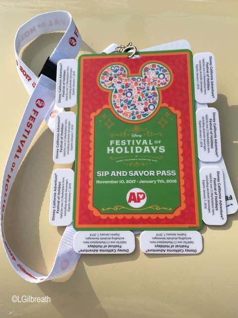 Festival of Holidays 2017 Sip and Savor Pass