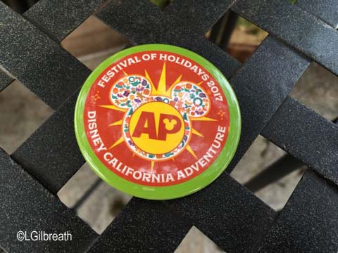 Festival of Holidays 2017 AP button