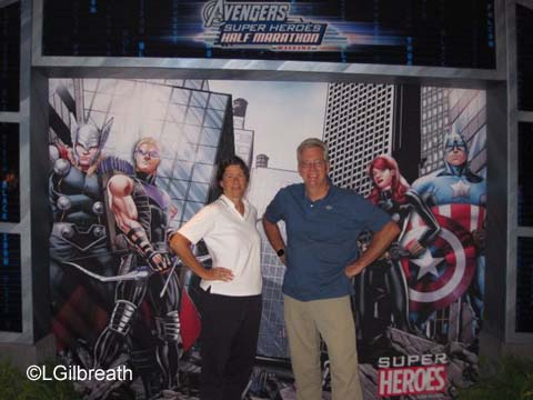 2015 Avengers Half Marathon Weekend Part 1