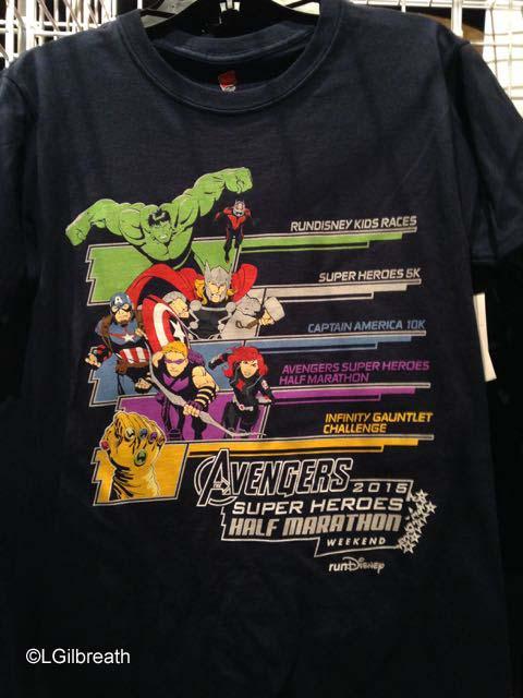 Avengers Half Marathon Weekend shirt