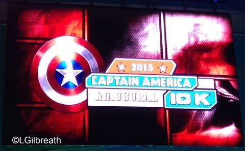 Captain America 10K logo
