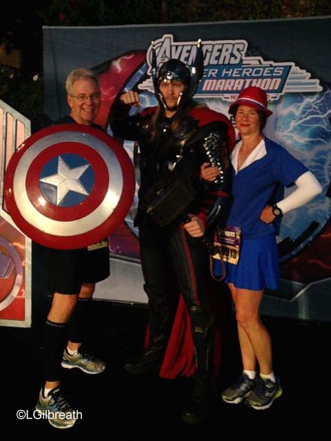 Captain America 10K - Thor