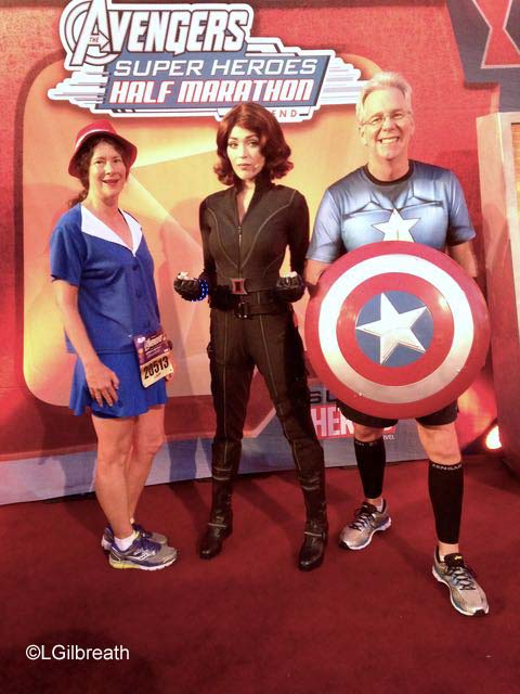 Captain America 10K - Black  Widow