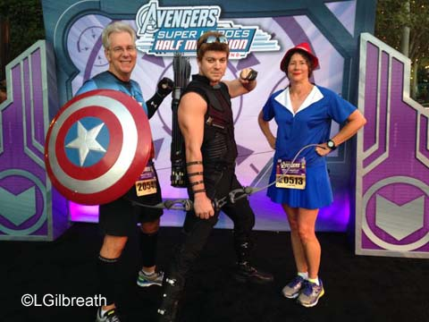 Captain America 10K - Hawkeye