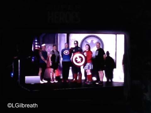 Avengers Half Marathon Start Line