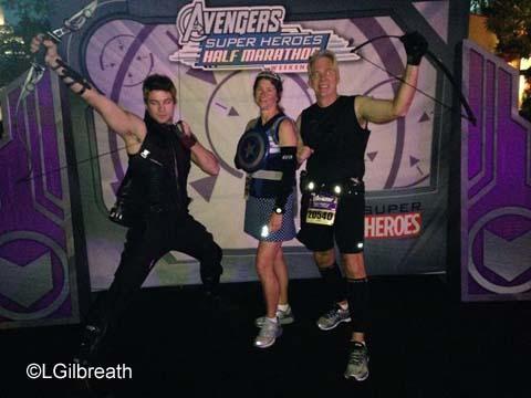 Avengers Half Marathon Hawkeye