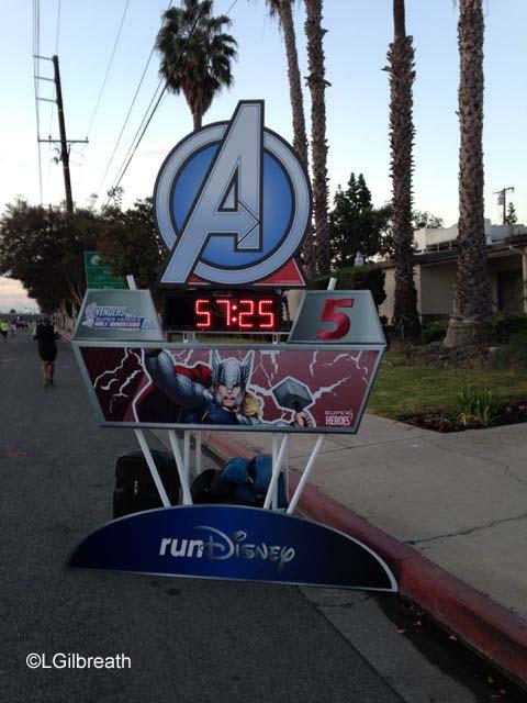 Avengers Half Marathon Mile 4