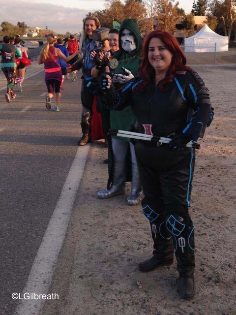 Avengers Half Marathon Cosplayers