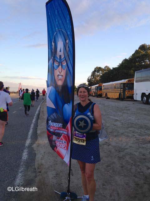 Avengers Half Marathon banner