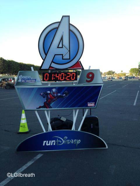 Avengers Half Marathon Mile 9