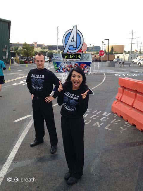 Avengers Half Marathon Mile 12