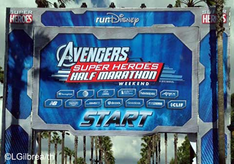 2015 Avengers Half Marathon Weekend Part 2