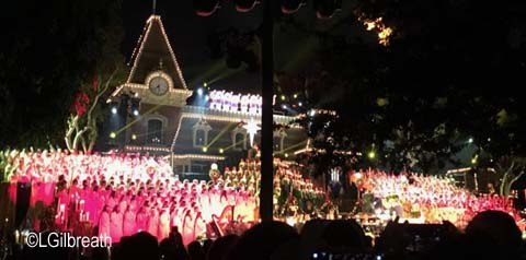 Disneyland Candlelight Processional 2017