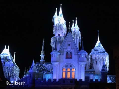 Sleeping Beauty ice castle