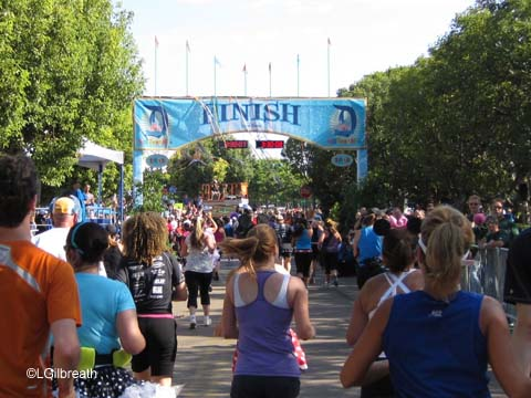 2011 Disneyland Half Marathon - Race Day