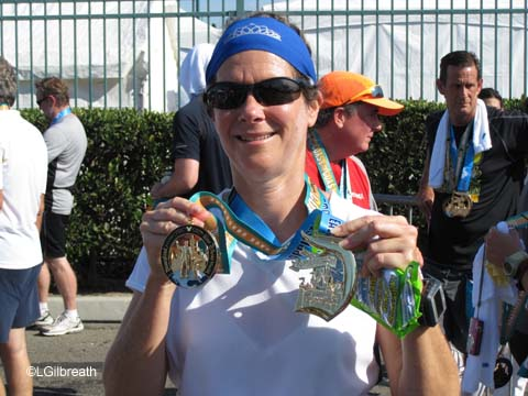 2011 Disneyland Half Marathon - The Results