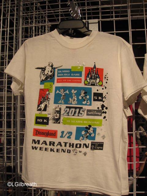 Disneyland Half Marathon Race Shirt