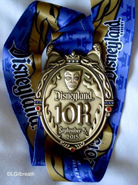 Disneyland 2015 10K Villains Medal