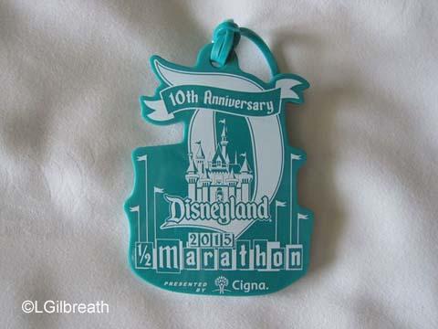 Disneyland Half Marathon luggage tag