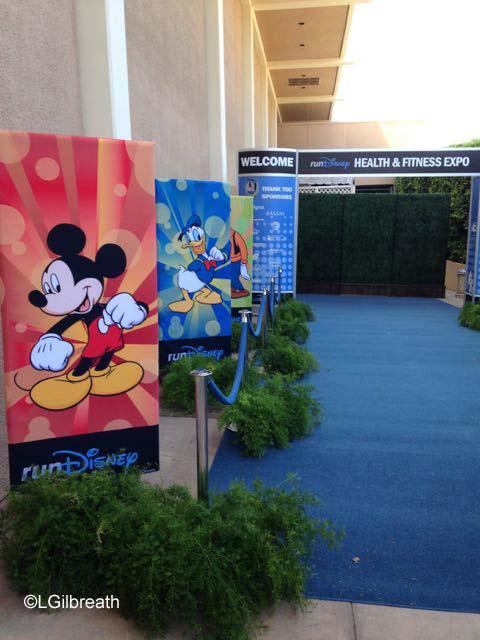 Disneyland Half Marathon Expo