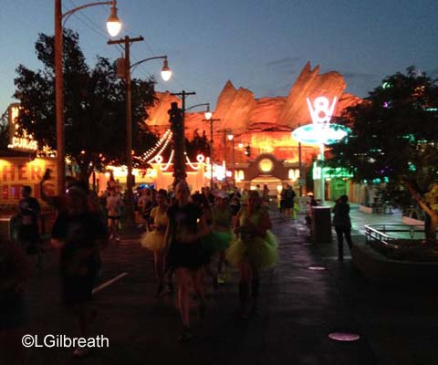 Disneyland 10K Radiator Springs
