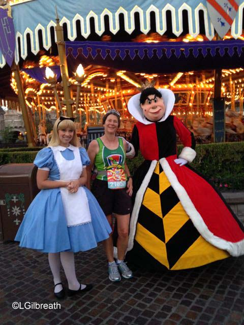 Disneyland 10th Annual Half Marathon Queen of Hearts