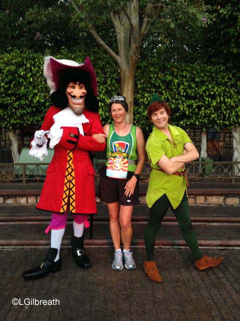 Disneyland Half Marathon Captain Hook Peter Pan