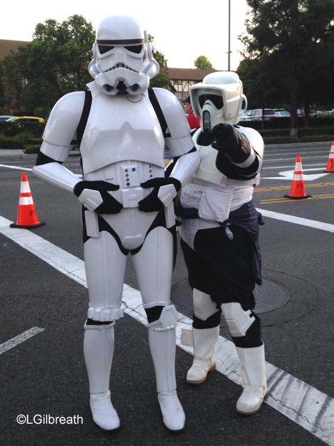 Disneyland 10th Annual Half Marathon storm troopers
