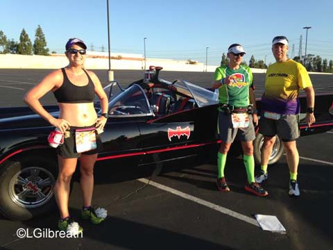 Disneyland 10th Annual Half Marathon Batmobile