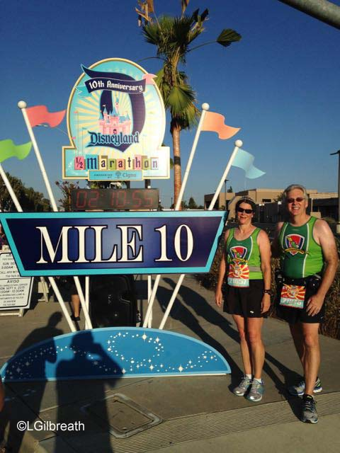 Disneyland 10th Annual Half Marathon Mile 10