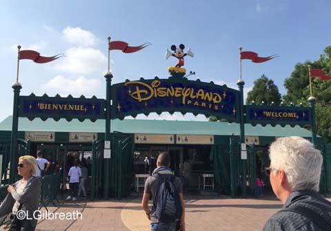 Disneyland Paris Security Entrance