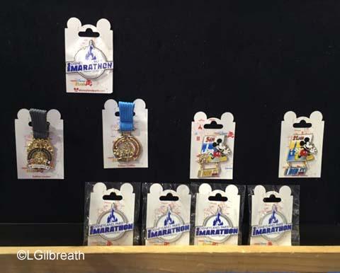 Disneyland Paris Half Marathon Pins