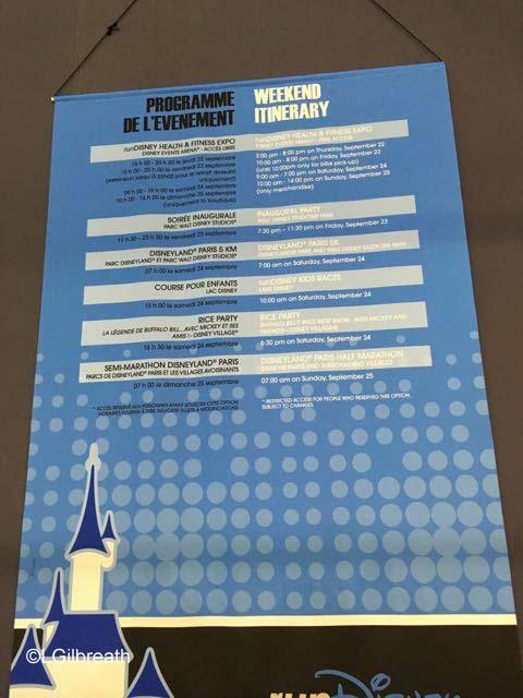 Disneyland Paris Half Marathon events