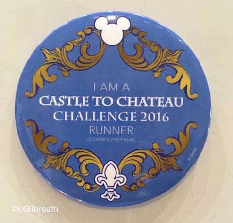 Disneyland Paris Castle to Chateau button