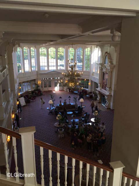 Disneyland Paris Hotel Lobby