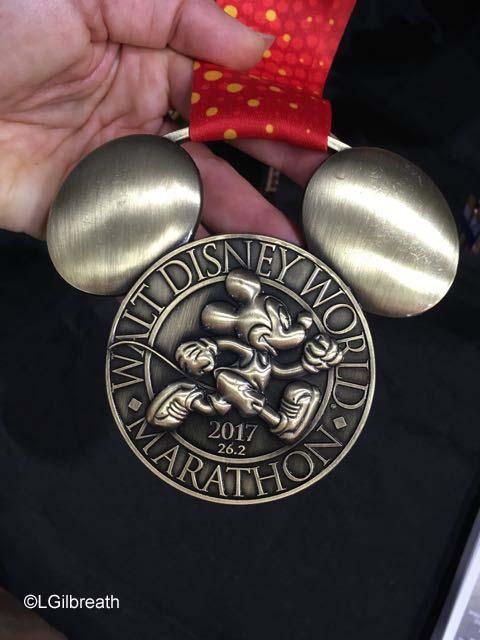 runDisney 2017 Marathon Mickey Medal
