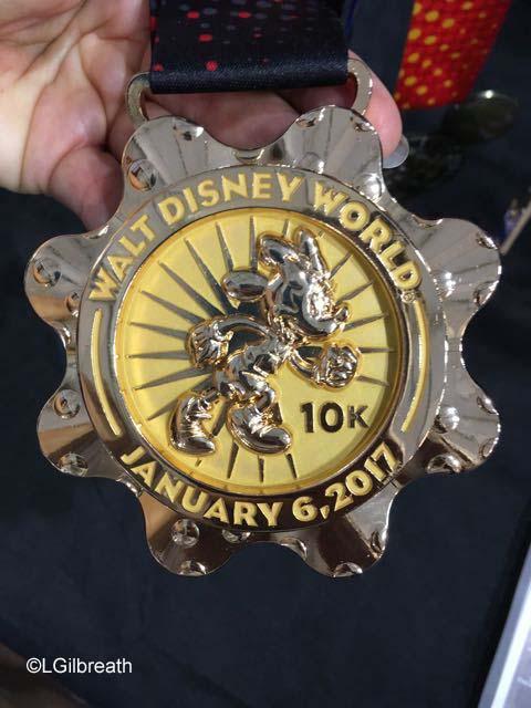 runDisney 2017 WDW 10K Minnie Medal