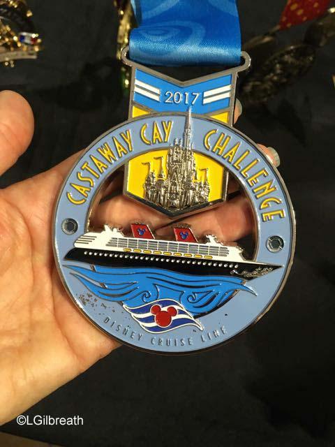 runDisney 2017 Castaway Cay Challenge Medal