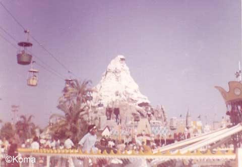 Disneyland Matterhorn 1963
