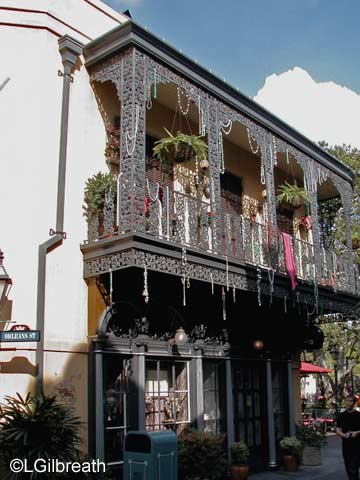 Disneyland New Orleans Square