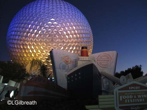 Disney Dream - October, 2011, Part 5 and Epcot Food and Wine Festival