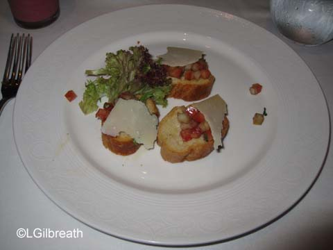 Disney Dream - October 2011 - The Food