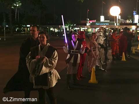 Star Wars Dark Side 10K cosplayers