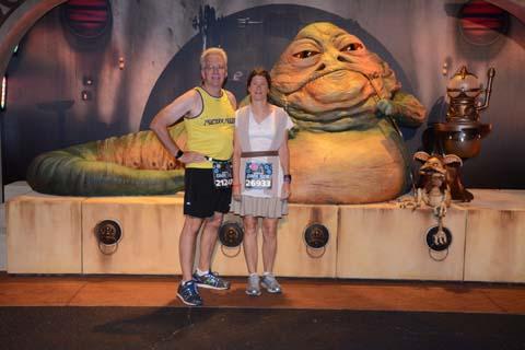 Star Wars Dark Side 10K Jabba the Hutt