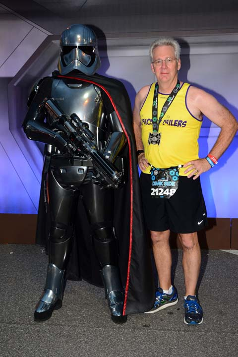 Star Wars Dark Side 10K Captain Phasma