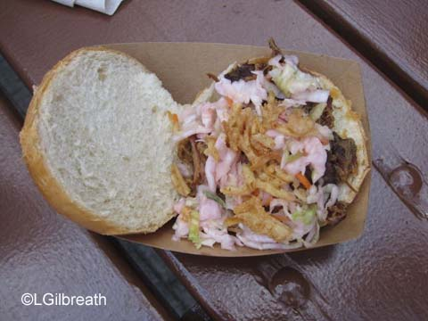 Smokehouse Pulled Pig Slider