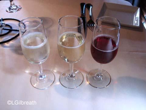 Brown Derby Sparkling Wine Flight