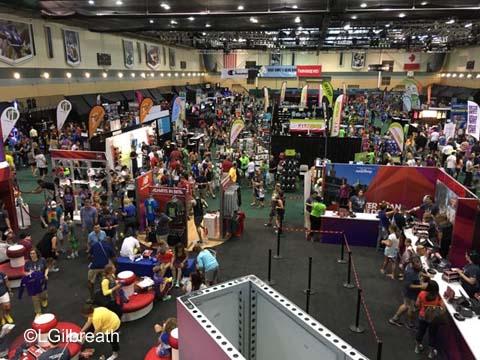 Star Wars Dark Side Expo show floor