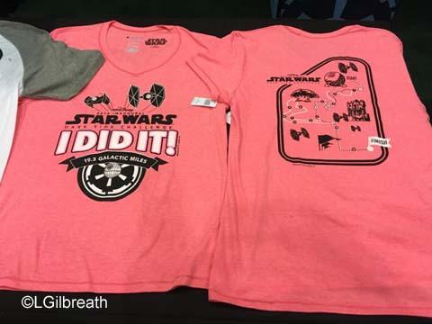 Star Wars Dark Side Challenge I Did It shirt